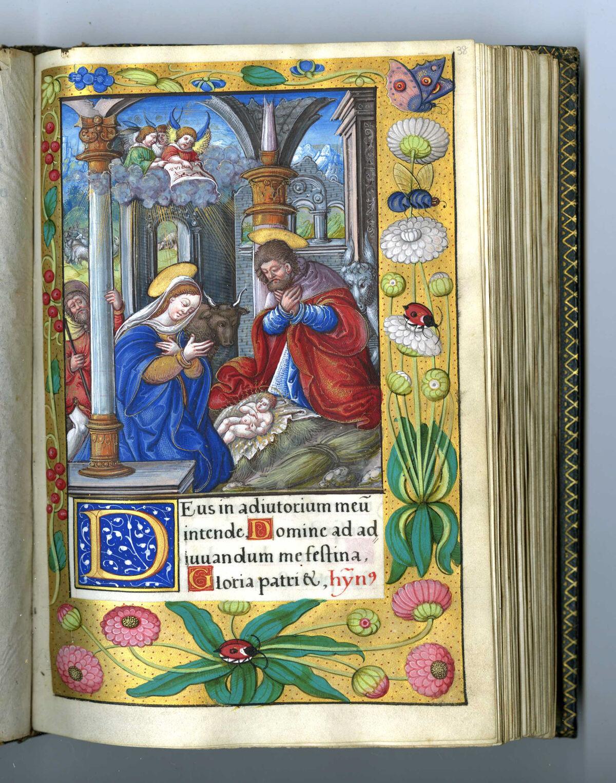 Master of François de Rohan, Hours of Francis I, 1539–40. Courtesy of The Metropolitan Museum of Art.