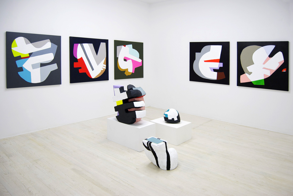 """Installation view of""""Hayal Pozanti: Scrambler,"""" Halsey McKay Gallery.Courtesy Halsey McKay Gallery and the artist."""