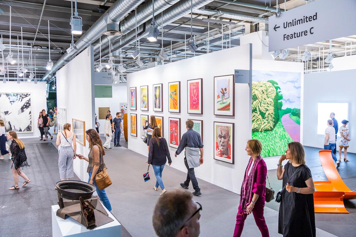 Art Basel in Basel 2018. Photo © Art Basel.