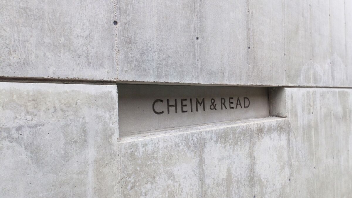 The exterior of the former Cheim & Read spade in Chelsea. Photo by Jess Hawsor, via Wikimedia