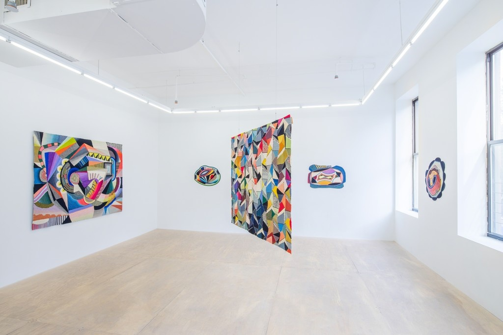 Installation view of work by Sissel Blystad at Hester. Photo courtesy of Hester.