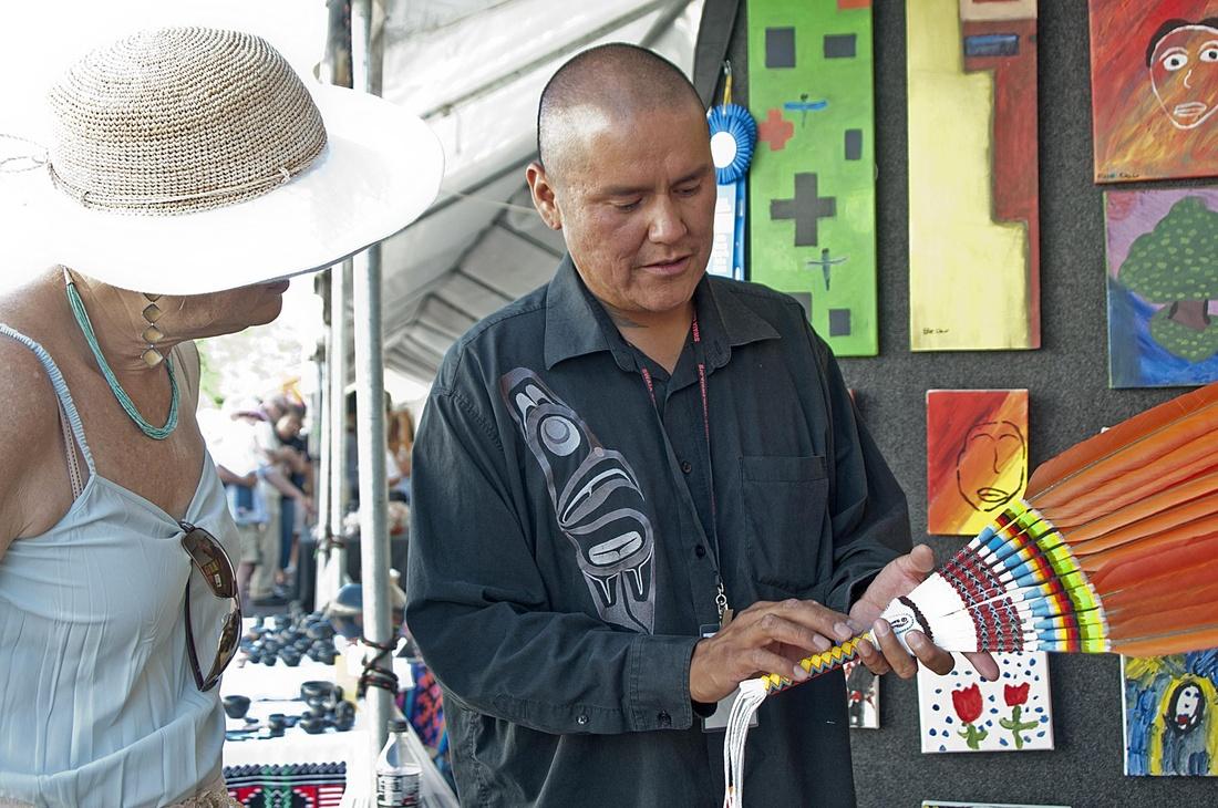 Santa Fe Indian Art Market, 2010. Photo by Marshall Segal, via Flickr.