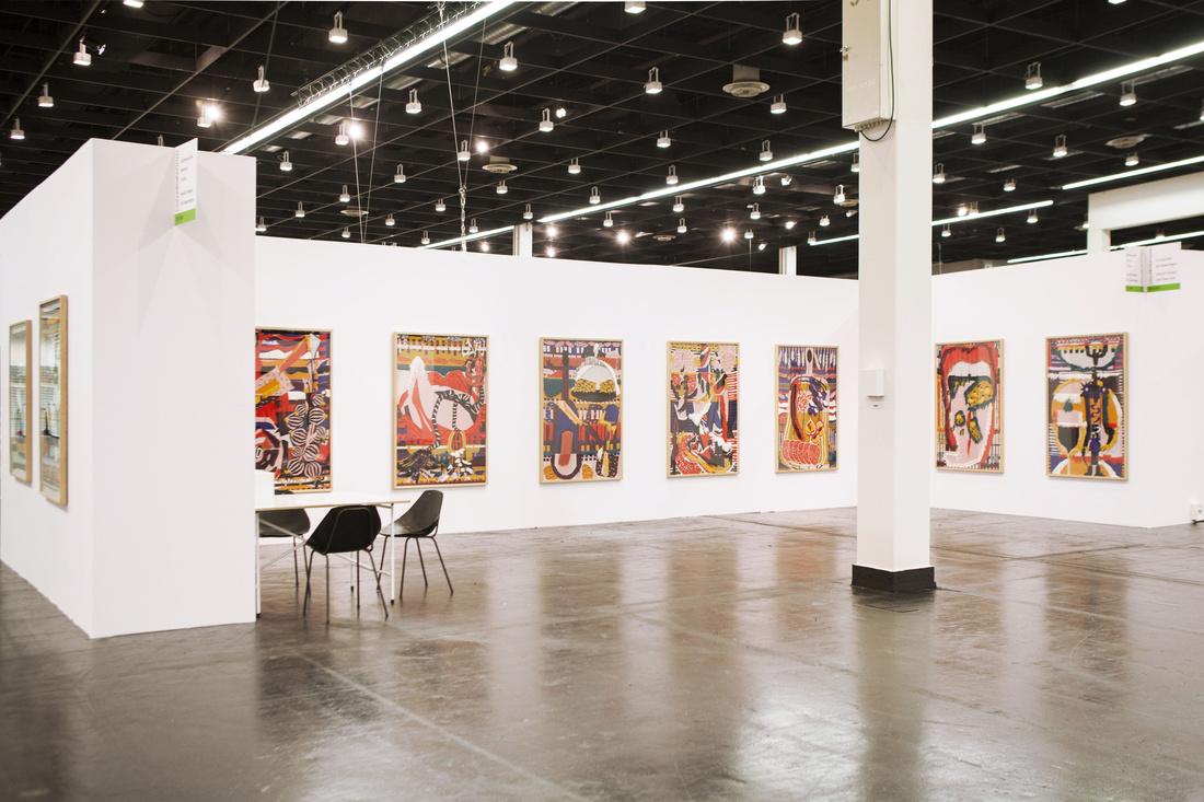 Installation view of Ruttkowski;68's booth at Art Cologne, 2016. Photo courtesy of Ruttkowski;68.