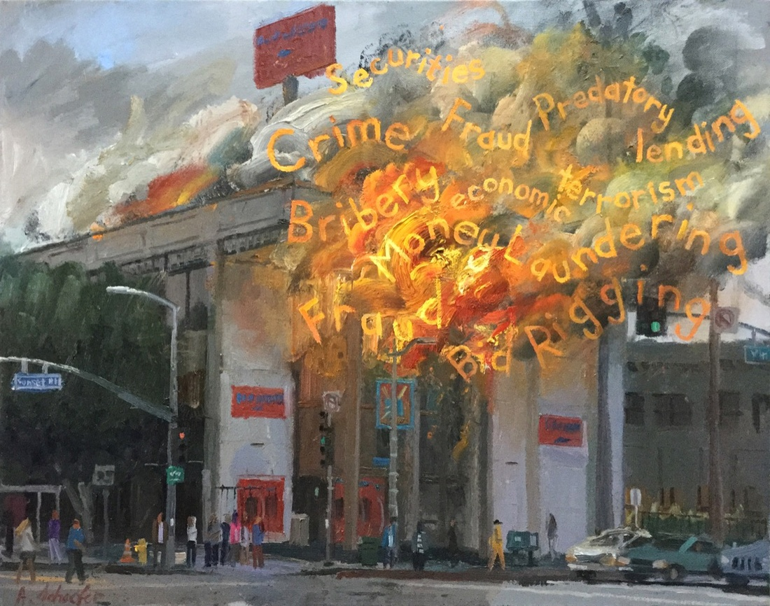 Alex Schaefer, Bank of America Sunset & Vine, 2016. Image courtesy of the artist and Charlie James Gallery, Los Angeles.