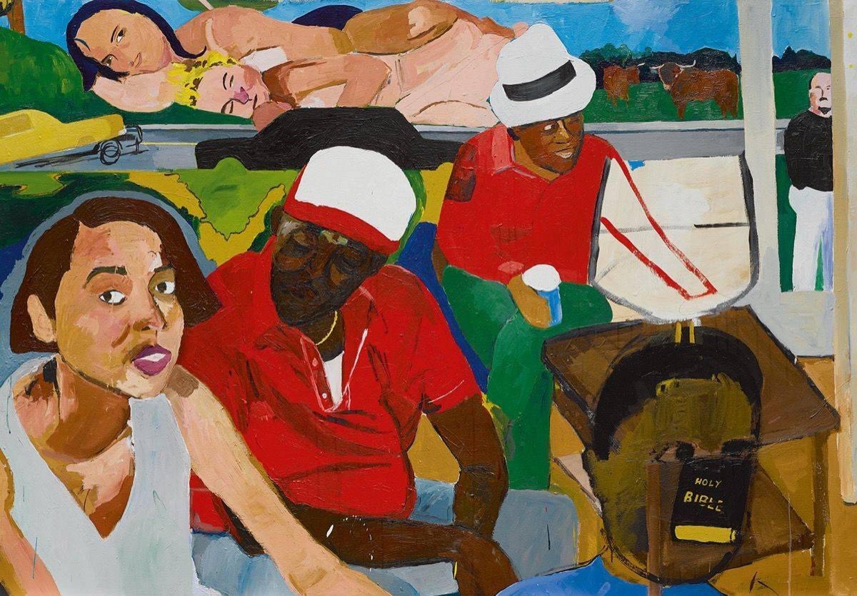 Henry Taylor,  I'll Put a Spell on You , 2004. Courtesy of Sotheby's.