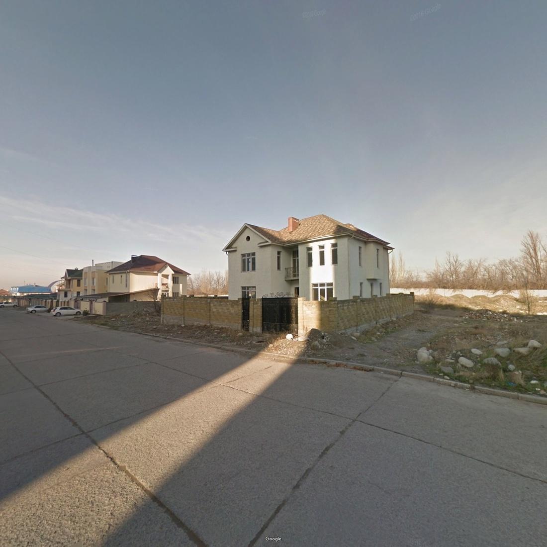 Bishkek, Chuy Province, Kyrgyzstan. Photograph by Jacqui Kenny via Google Street View.
