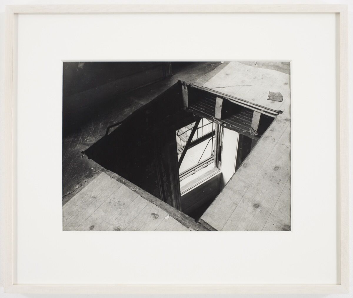 Gordon Matta-Clark, Bronx Floors, 1973. Courtesy of The Bronx Museum of the Arts.