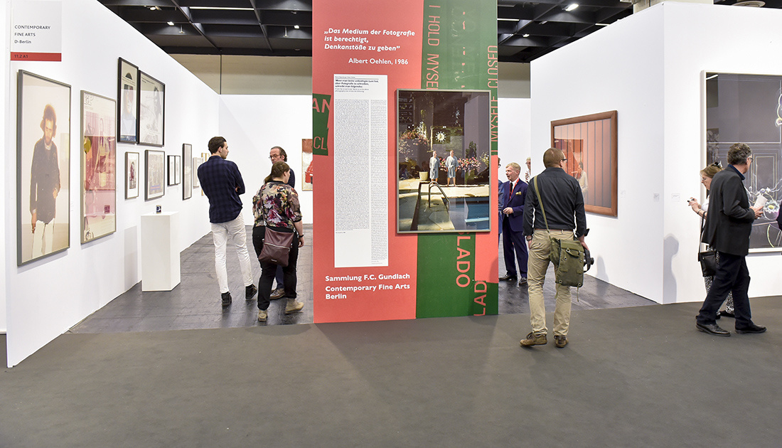 Contemporary Fine Arts' Booth at Art Cologne 2015. Photo: © Koelnmesse 2015.