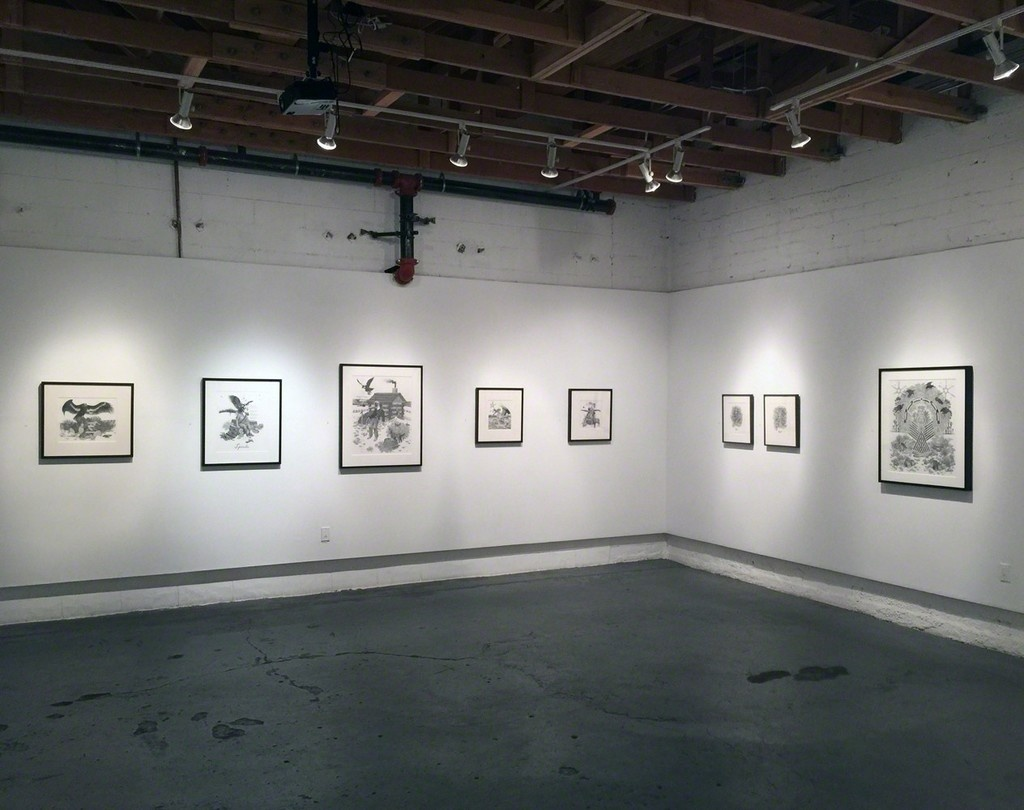 "Installation view of ""Eric Beltz: DREVERIEM,"" courtesy of Koplin Del Rio"