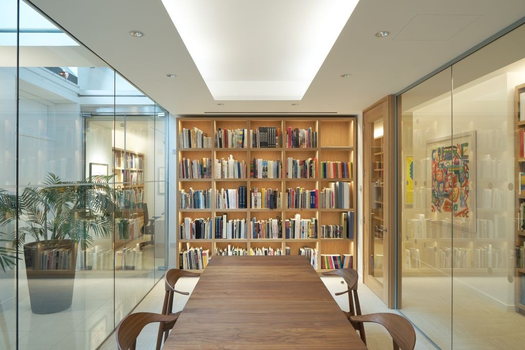 Meeting room and library at the new gallery on Pall Mall. Photo: Joseph Asghar.