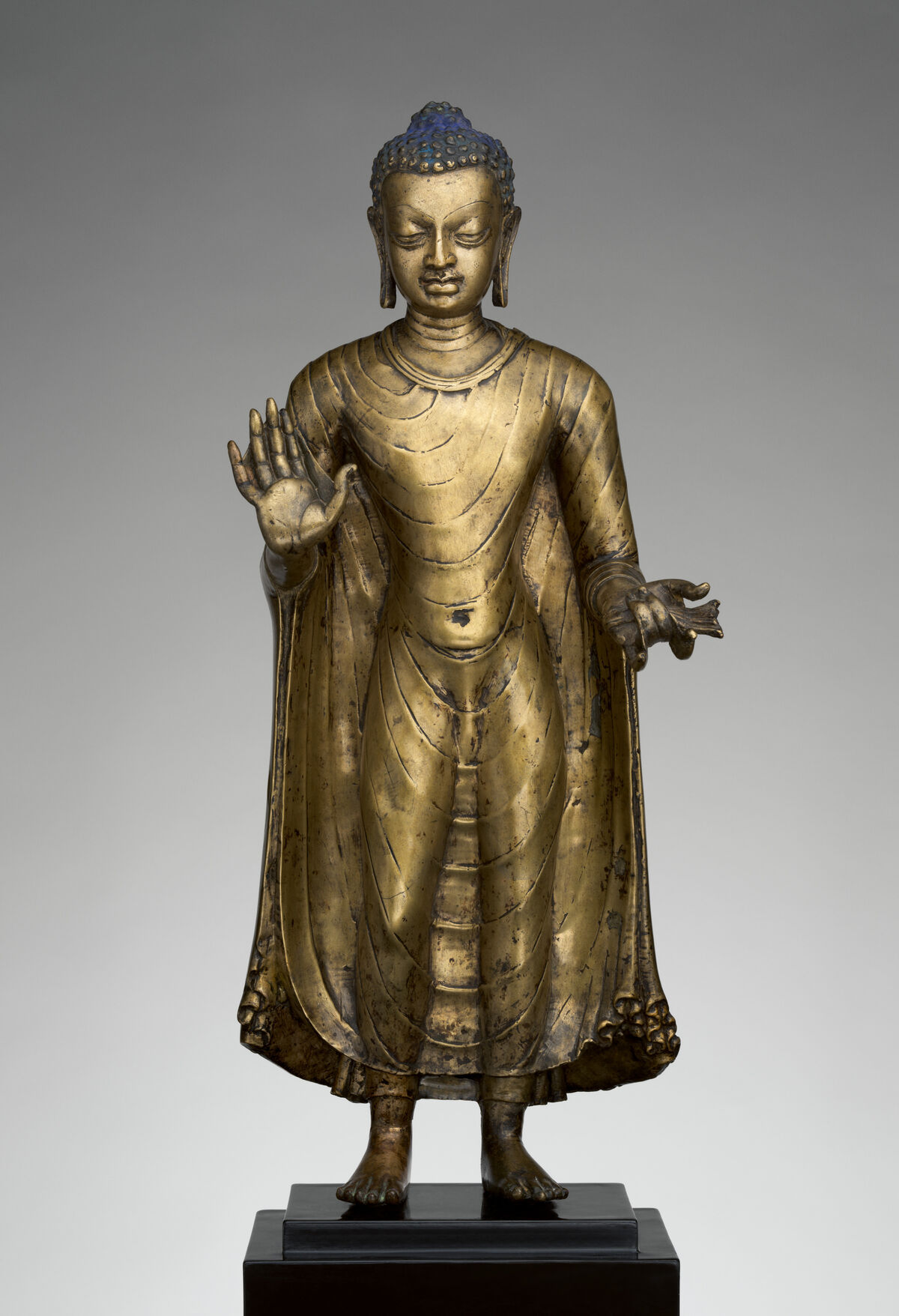 Buddha, late 6th–early 7th century, India (probably Bihar). Courtesy of The Metropolitan Museum of Art.