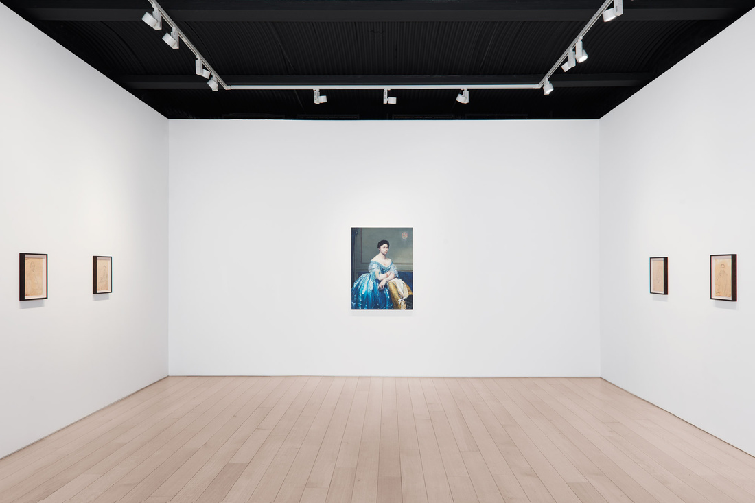 """Installation view of """"Taner Ceylan: We Now Must Say Goodbye"""" at Paul Kasmin Gallery, New York. Courtesy Paul Kasmin Gallery and the artist."""