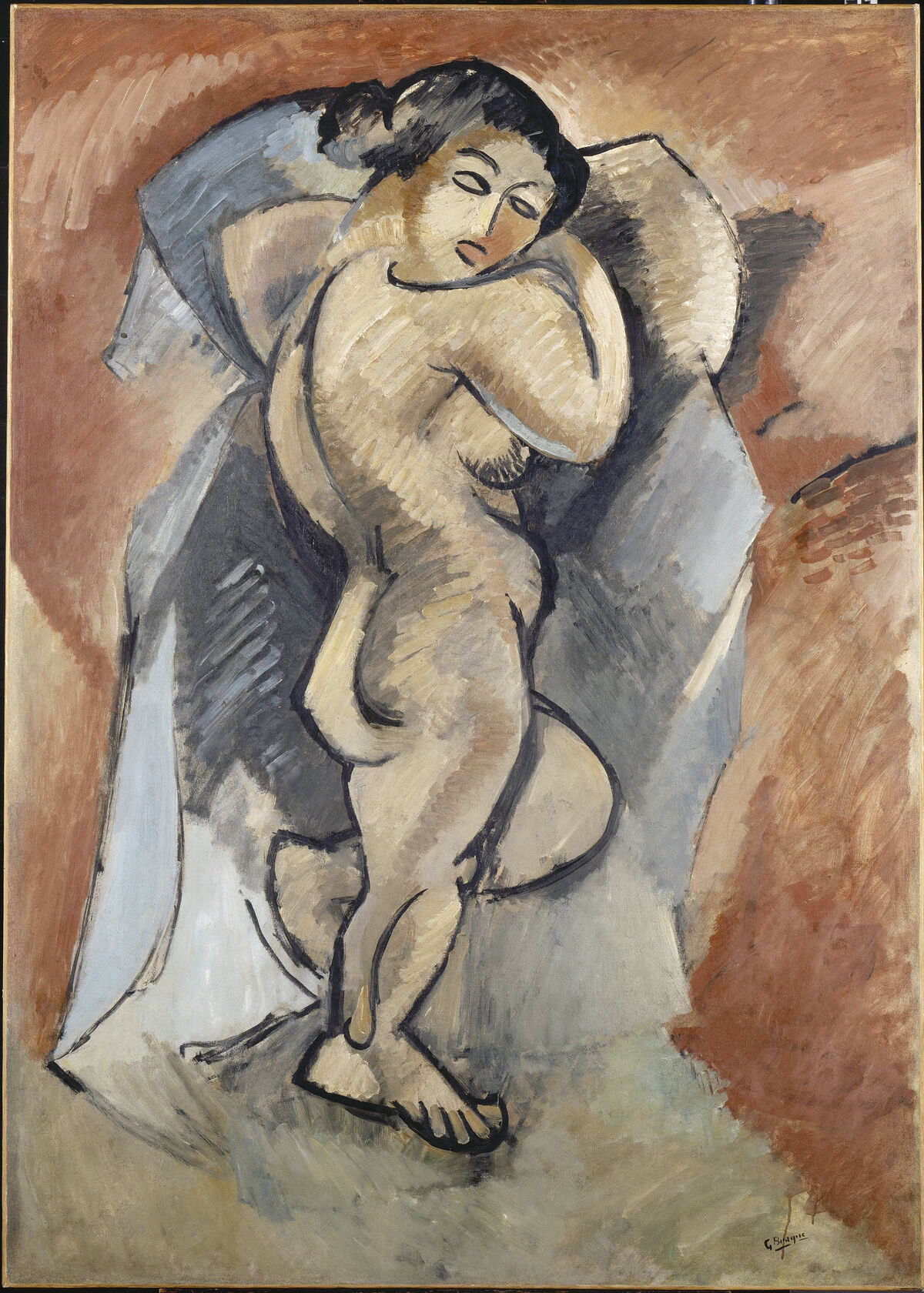 Georges Braque, Large Nude, 1908. © CNAC/MNAM/Dist. RMN-Grand Palais / Art Resource, NY. Courtesy of Simon & Schuster.