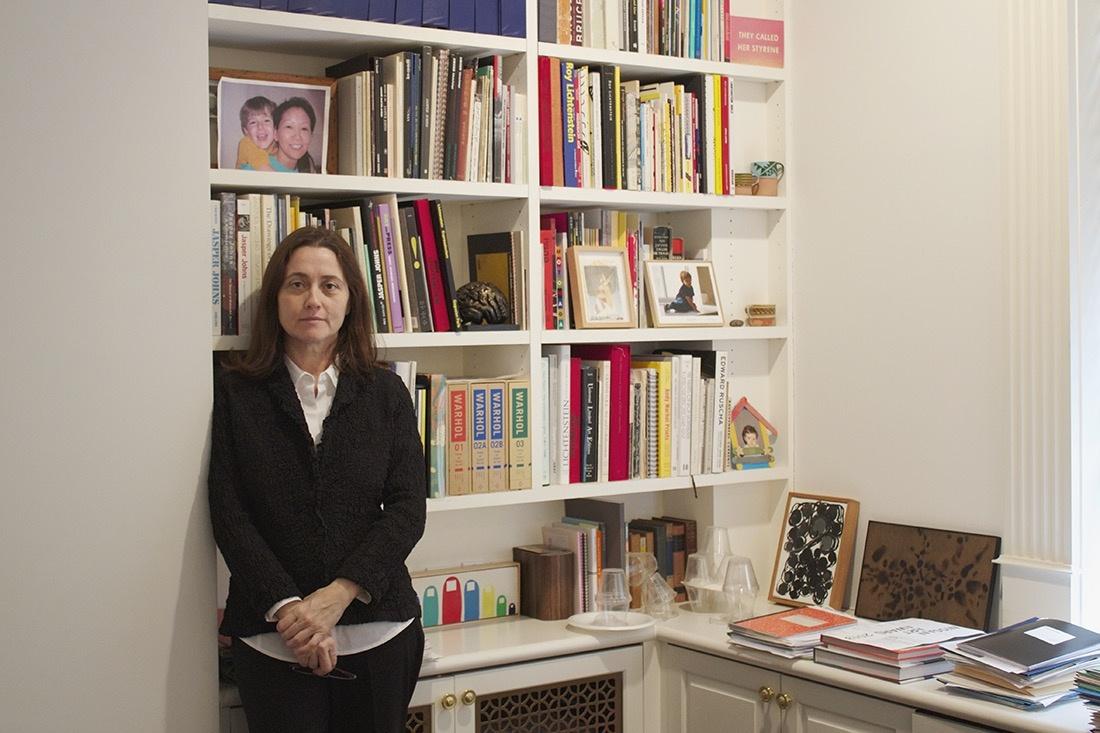 Barbara Bertozzi Castelli, director of Castelli Gallery. Photo by Kristy Caldwell, courtesy of Castelli Gallery.