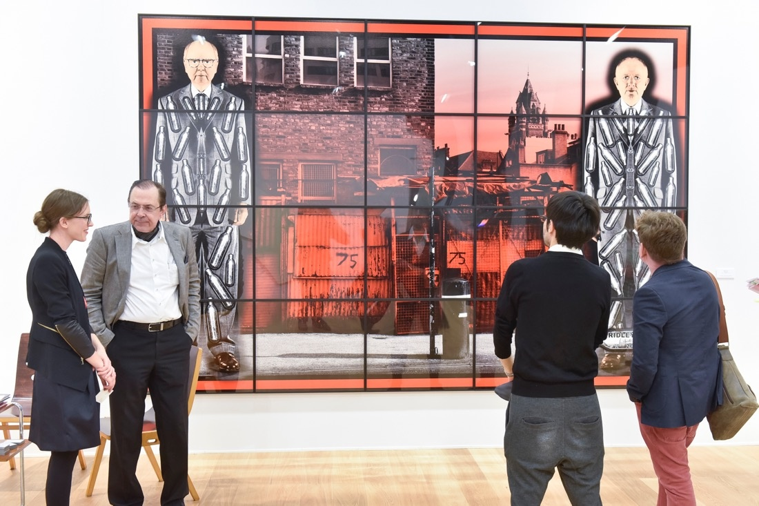 Galerie Thaddaeus Ropacat Art Cologne 2015. Photo: © Koelnmesse.