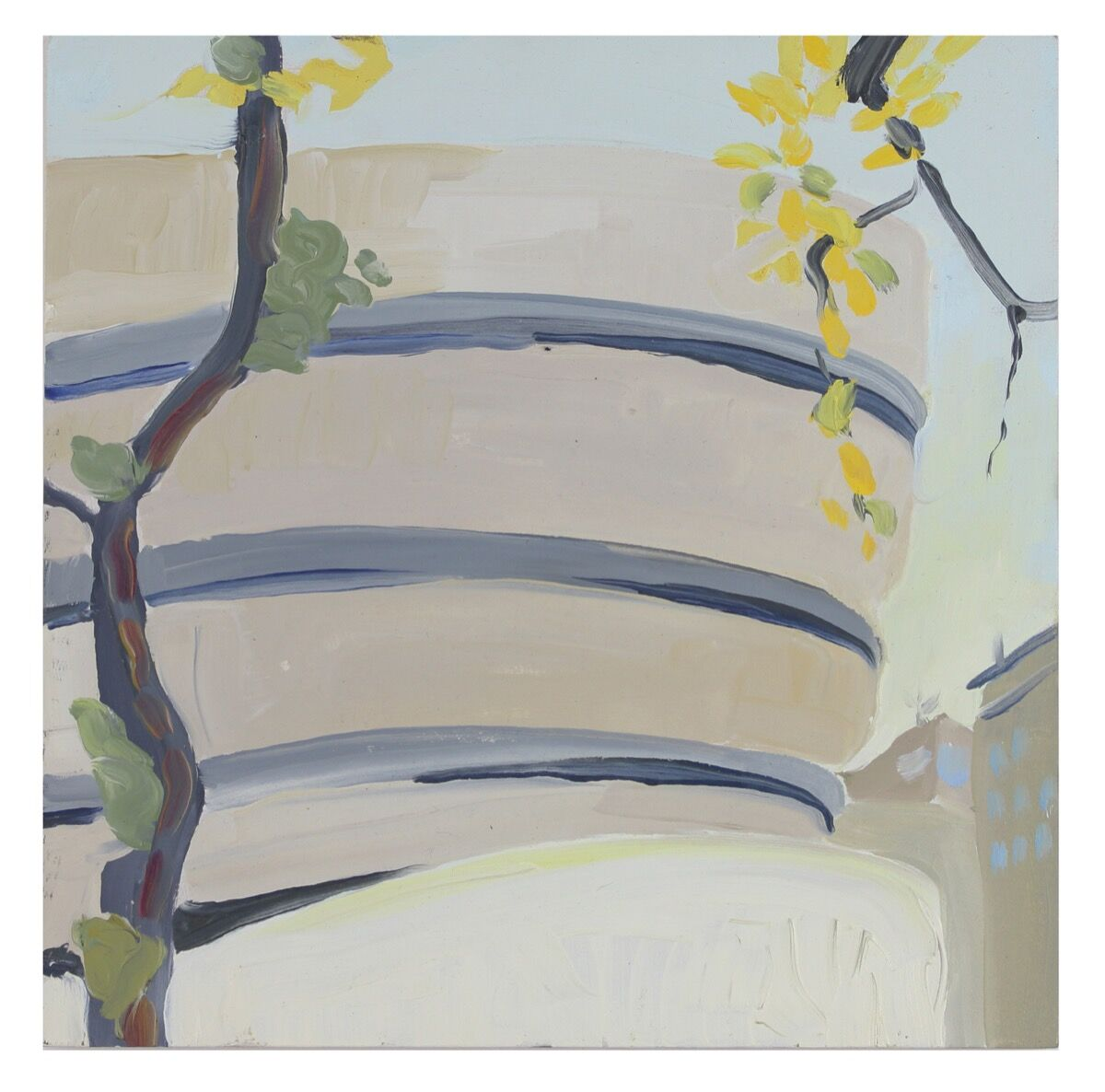Melissa Brown, Guggenheim, 2013. Courtesy of the artist.