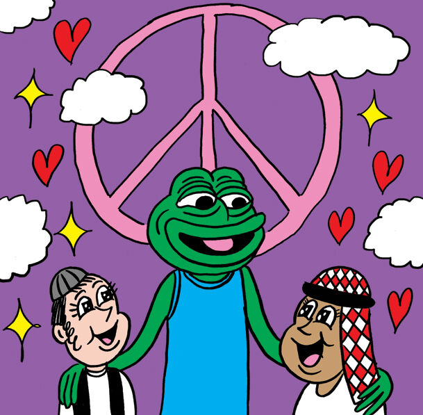 An image made by Johnny Ryan to support the #SavePepe campaign. Curtesy of #SavePepe.