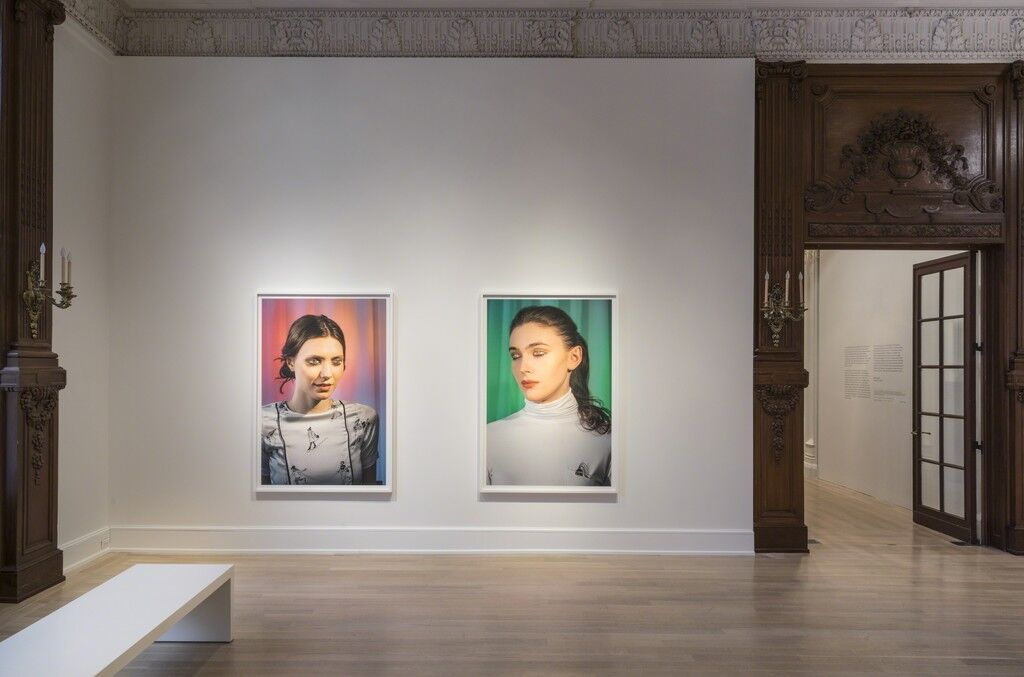 """Installation view of """"Laurie Simmons: How We See,"""" March 13–August 9, 2015. © The Jewish Museum, NY. Photo: David Heald. Art © Laurie Simmons, courtesy the artist and Salon 94."""