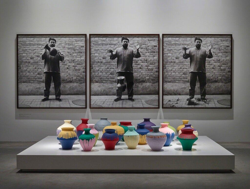 "Installation view, ""Ai Weiwei: Ruptures,"" Faurschou Foundation, Copenhagen."