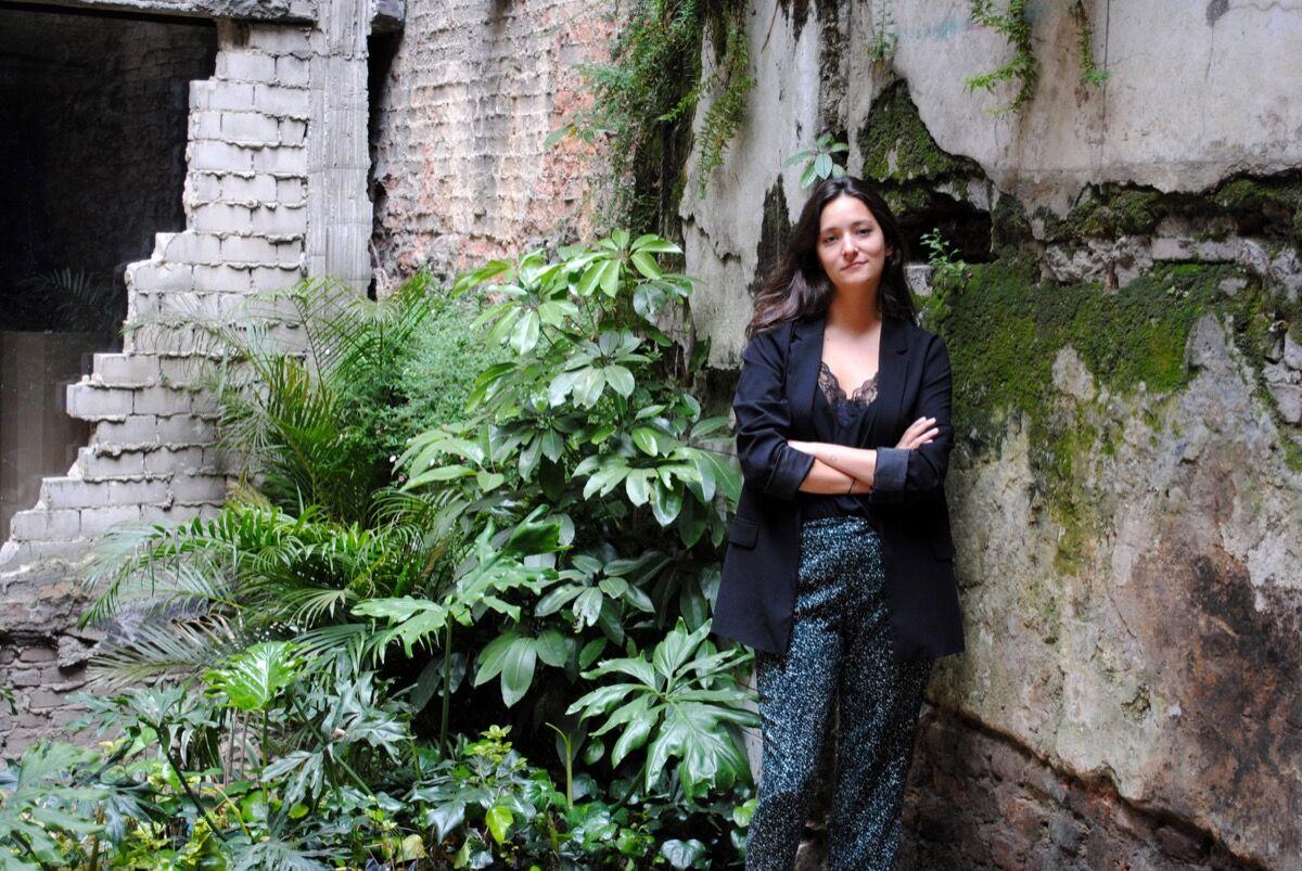 Portrait of Alejandra Sarria Molano. Courtesy of Alejandra Sarria Molano.