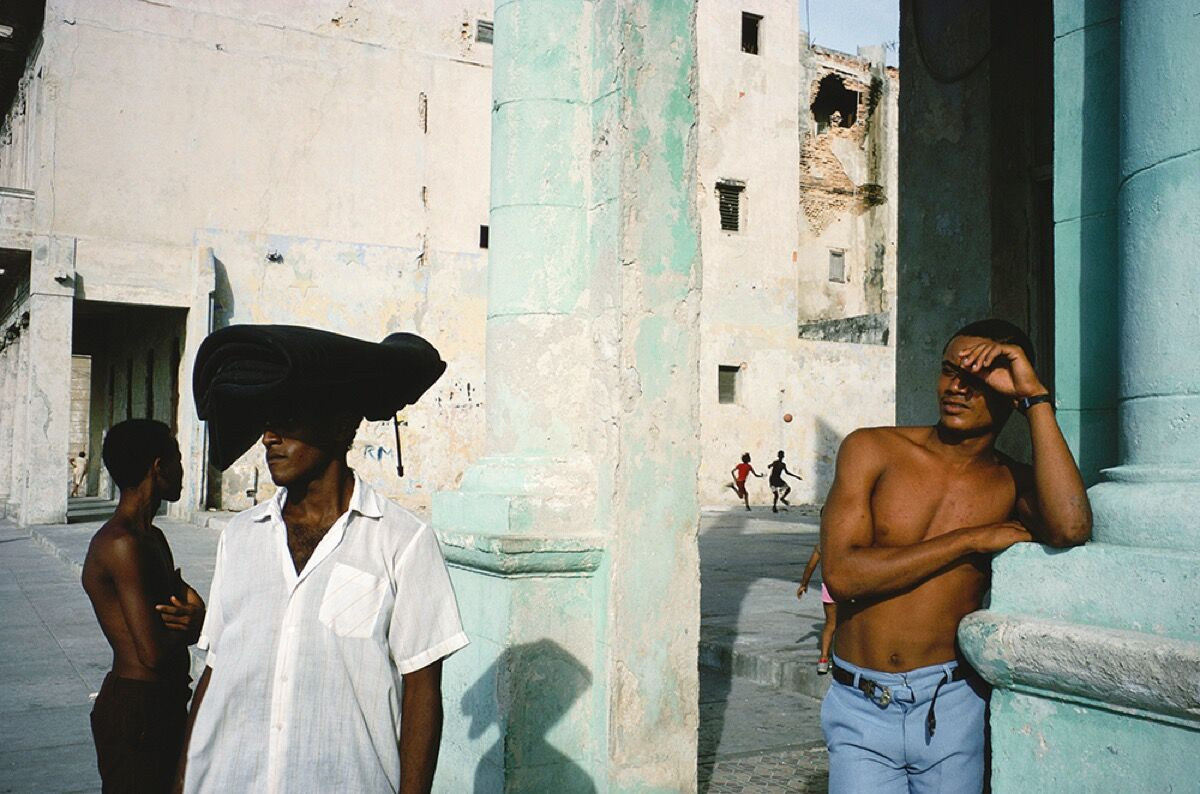 Alex Webb, Havana, Cuba from Slant Rhymes. Courtesy of La Fábrica.