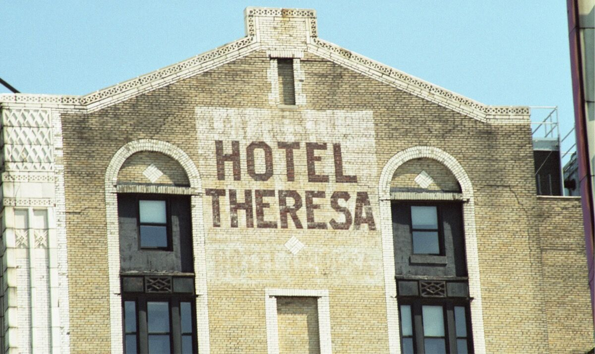 Photo by Ben Passikoff, Hotel Theresa, Harlem. Courtesy of Ben Passikoff.