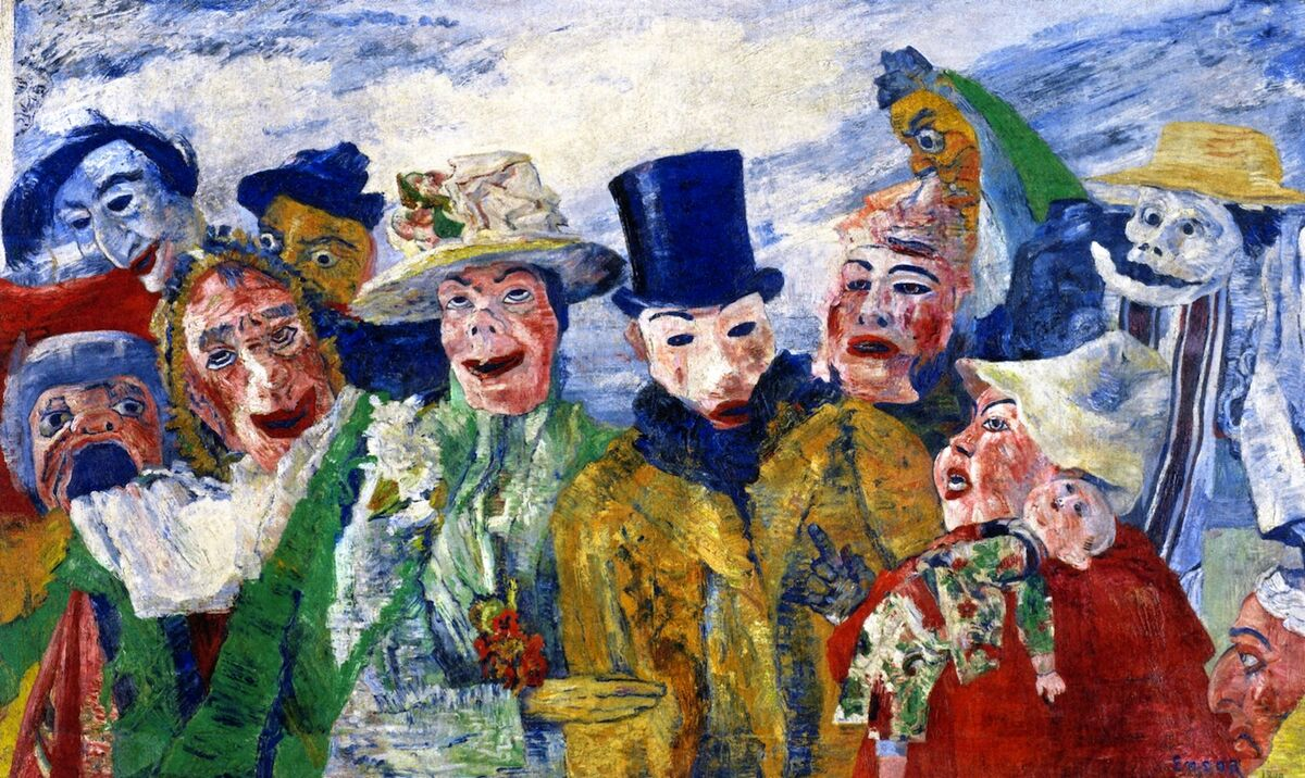 James Ensor, The Intrigue, 1890.