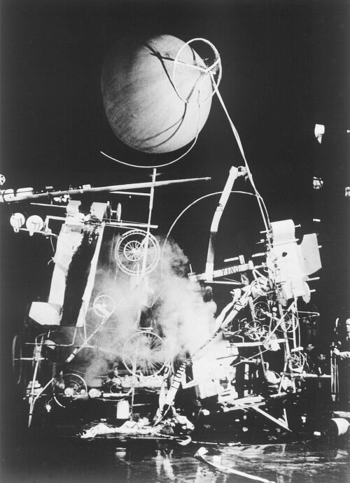 Jean Tinguely, Homage to New York, 1960. Photo via Flickr.