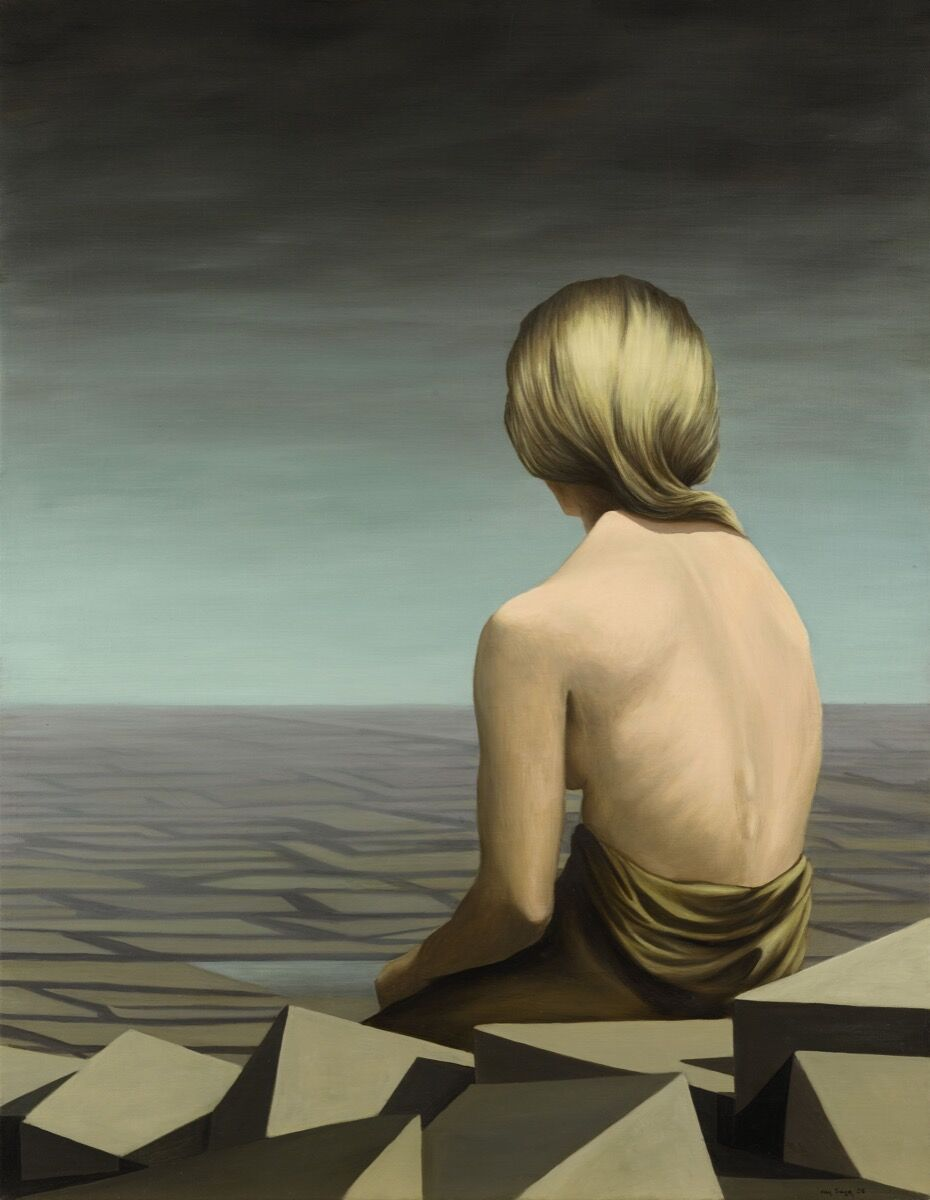 Kay Sage, Le Passage, 1956. Courtesy of Sotheby's.