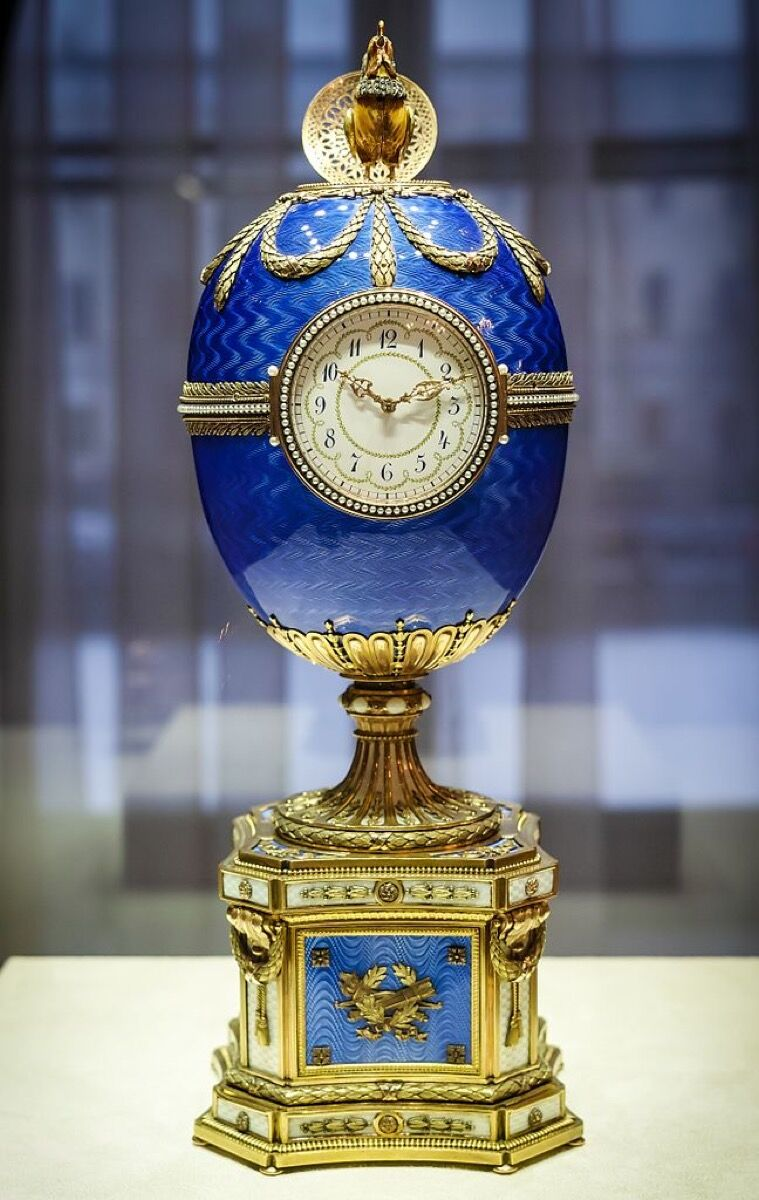 House of Fabergé, Chanticleer Egg, 1904. Photo via Wikimedia Commons.