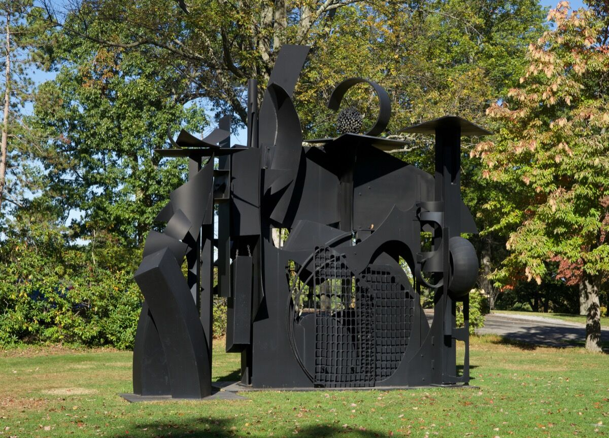 Louise Nevelson, City on the High Mountain, 1983. © 2018 Estate of Louise Nevelson/Artists Rights Society (ARS), New York. Photo by Jerry L. Thompson. © Storm King Art Center, Mountainville, New York.