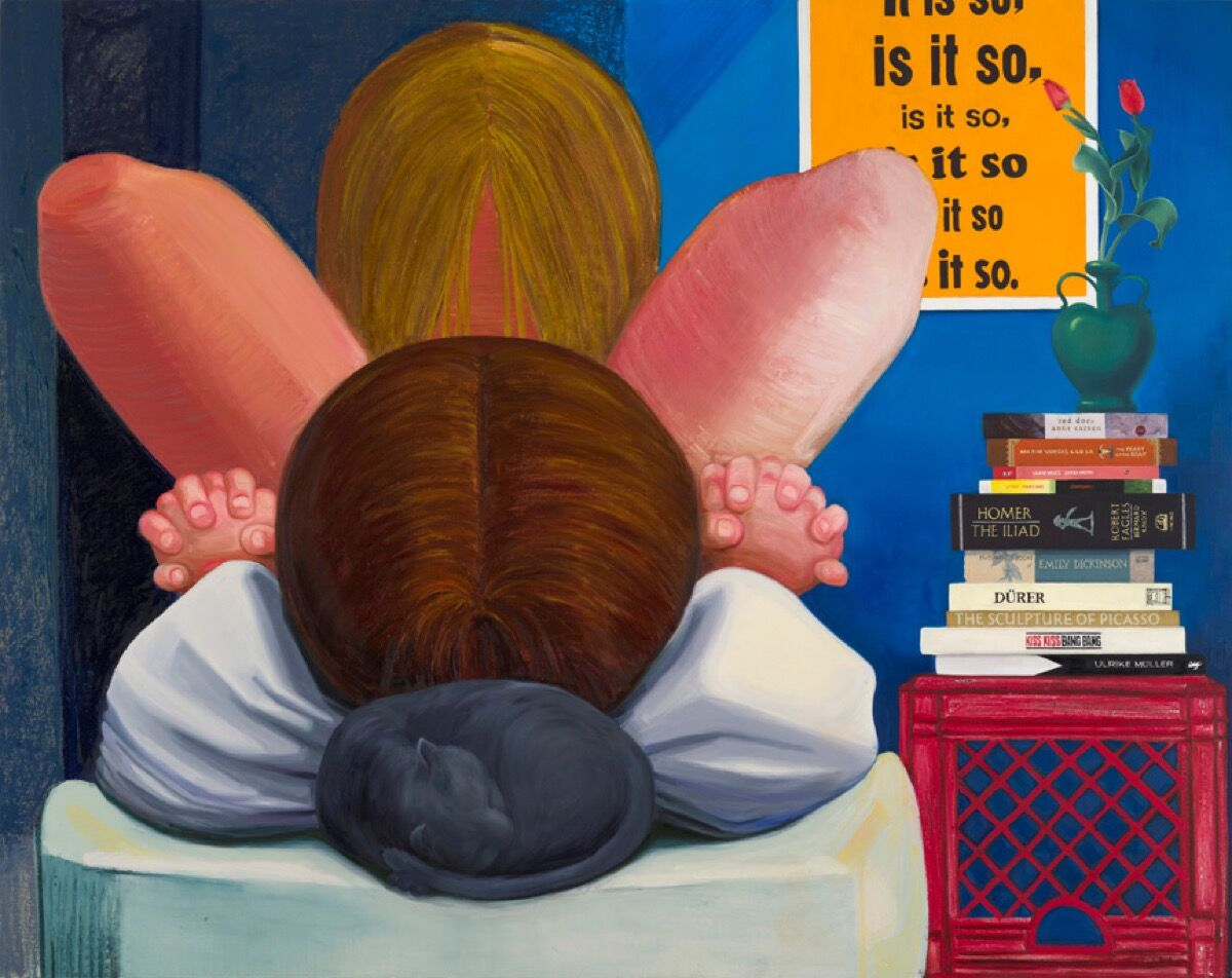 Nicole Eisenman, It Is So, 2014.  Courtesy of Anton Kern Gallery, New York and Susanne Vielmetter Los Angeles Projects.
