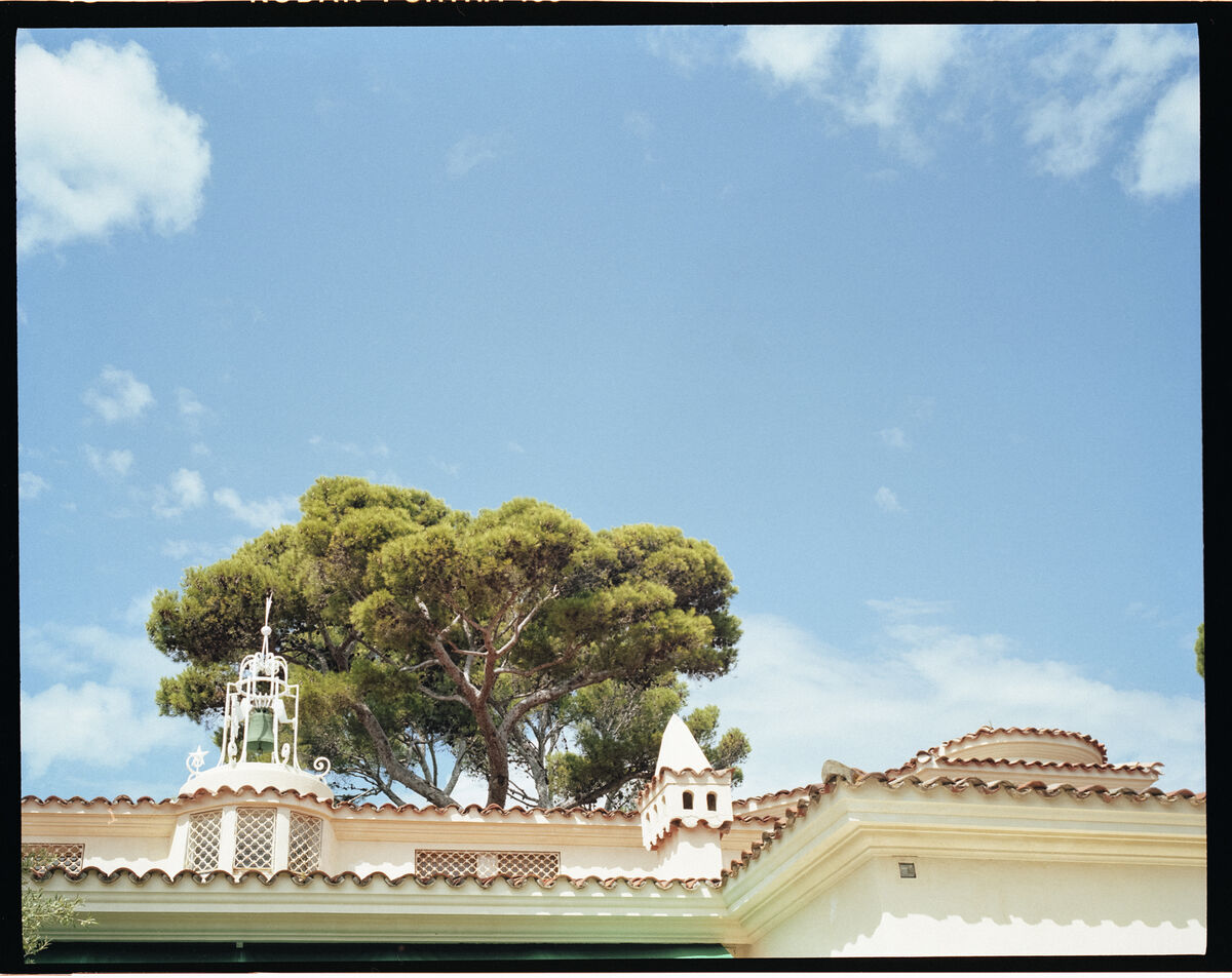 Photo of Jean Pigozzi's home in Cap d'Antibes by Victor Picon for Artsy.