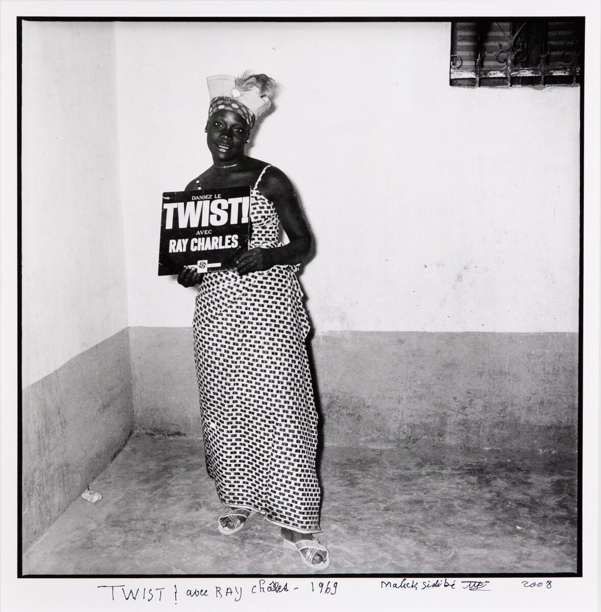 Malick Sidibé, TWIST! avec Ray Charles, 1969/2008. Courtesy of Jack Shaiman Gallery.