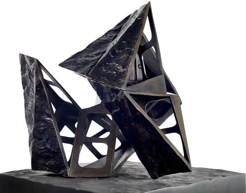 Charles Hadcock, Working Model for Caesura, 2016. Courtesy of Encounter Contemporary. Courtesy of London Art Fair.