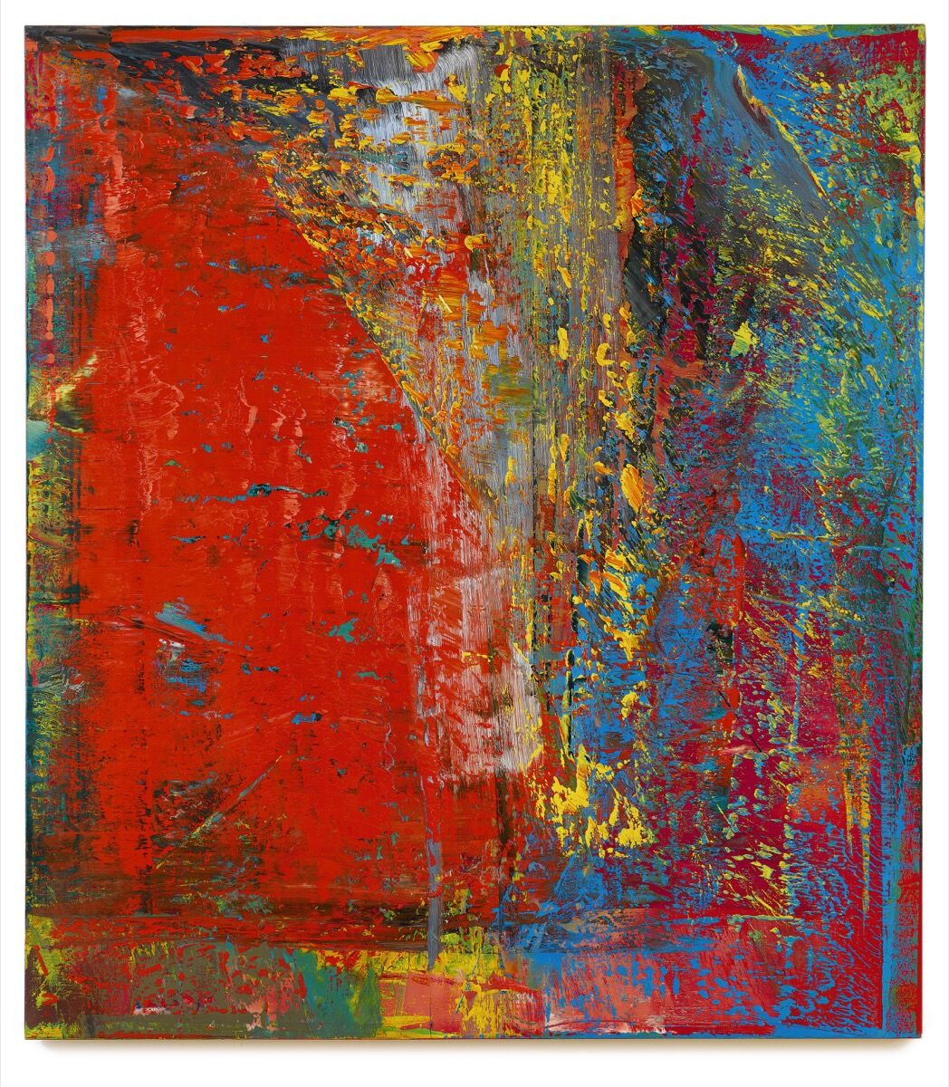 Gerhard Richter, A B, Still, 1986. © Gerhard Richter, 2016. Image courtesy of Sotheby's.