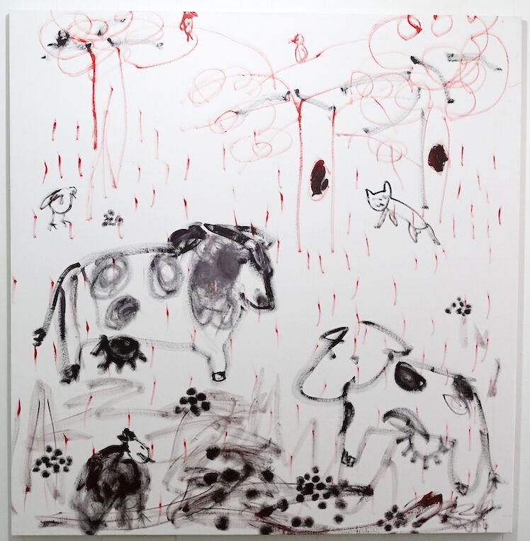 Trevor Shimizu,Cows Chickens Birds. Courtesy 47 Canal.