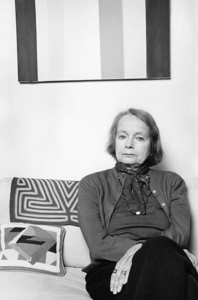 Betty Parsons, 1977. © Lynn Gilbert. Image via Wikimedia Commons.