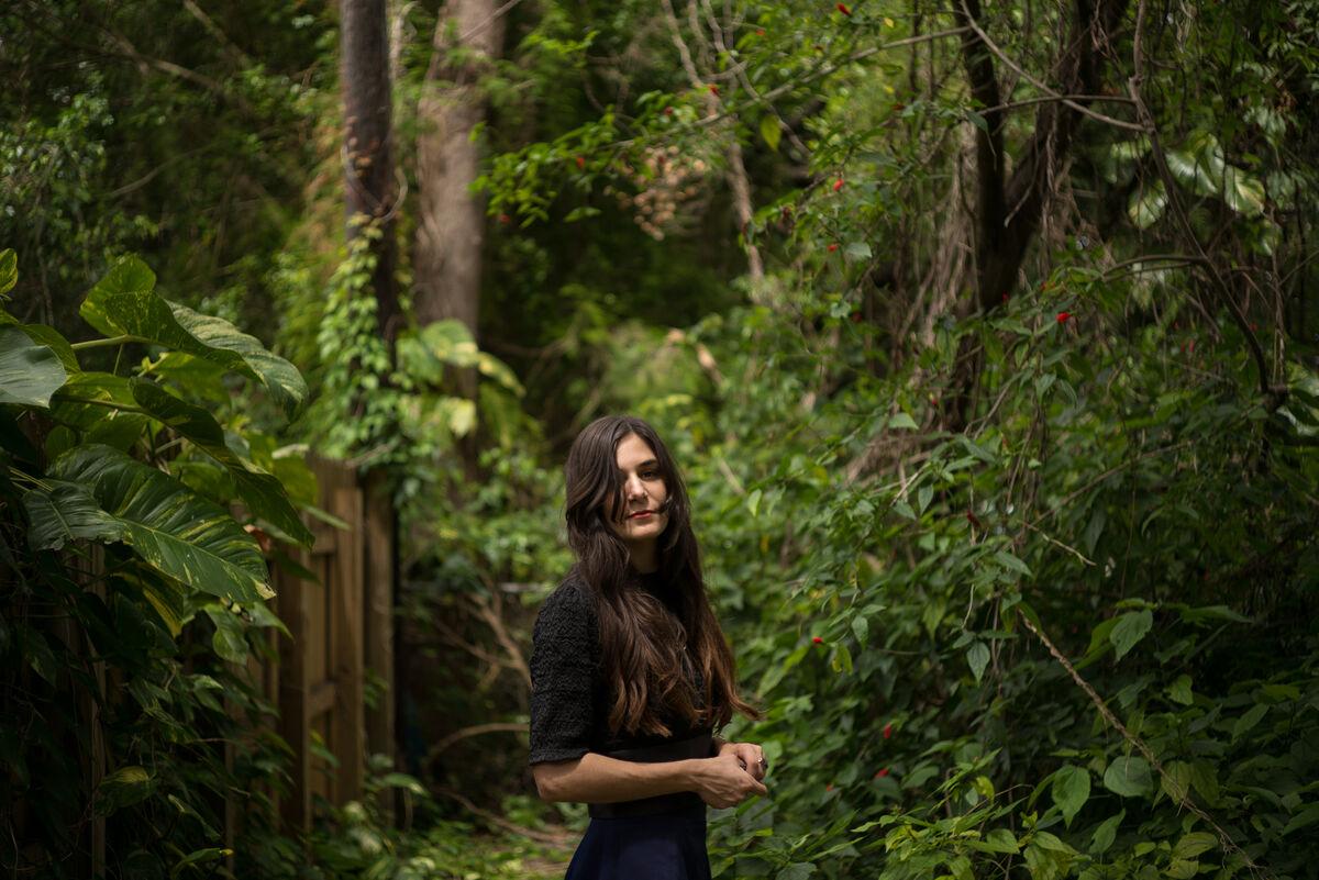 Portrait of Jillian Mayer by Gesi Schilling for Artsy.