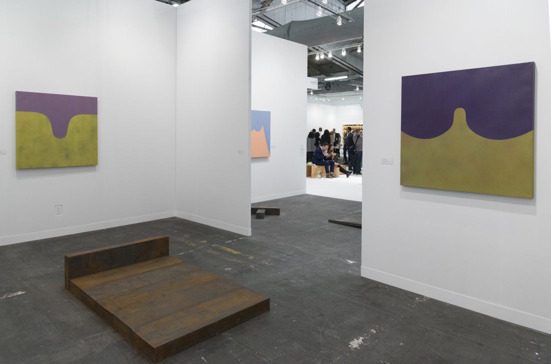Installation view of Fergus McCaffrey's booth at The Armory Show, 2017. Photo by Adam Reich for Artsy.
