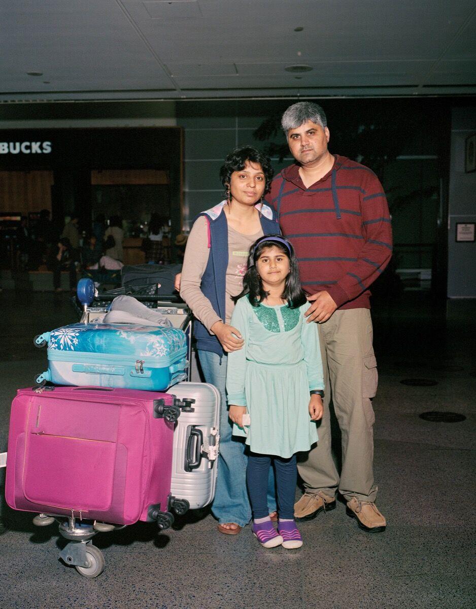 Erin Brethauer and Tim Hussin, Seema Sharma. Courtesy of the California Sunday Magazine.