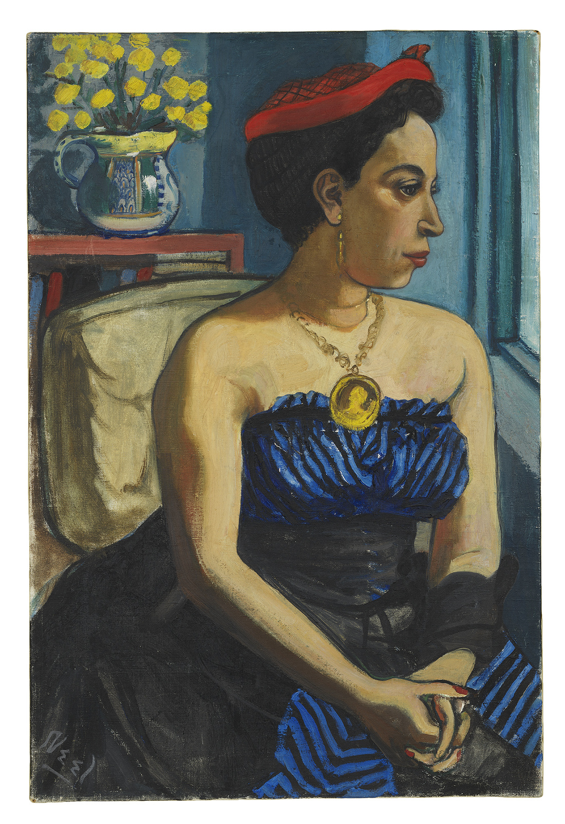 Alice Neel, Alice Childress, 1950. Collection of Art Berliner. © The Estate of Alice Neel. Courtesy David Zwirner, New York/London and Victoria Miro, London.