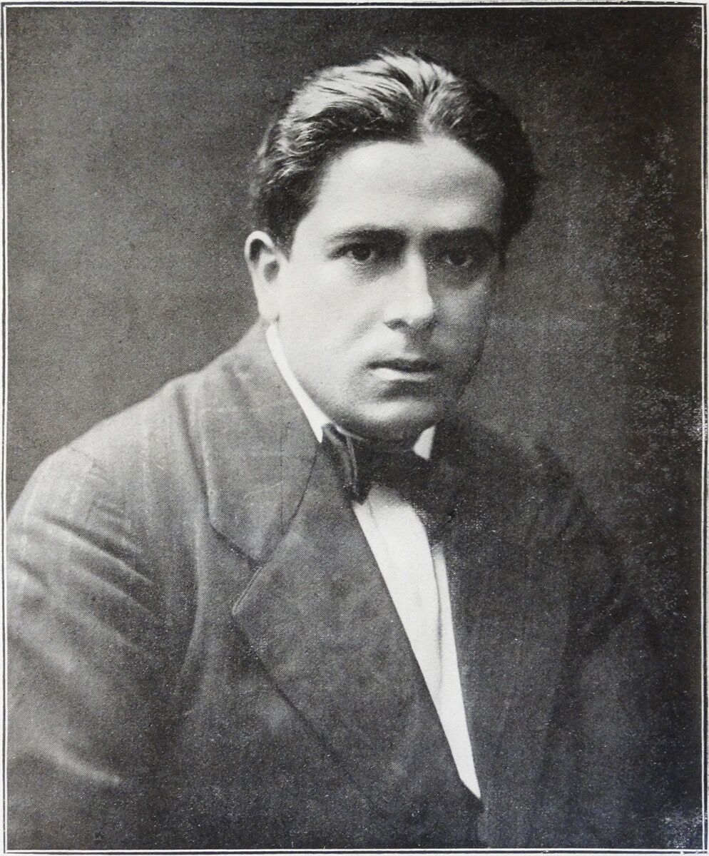 Portrait of Francis Picabia, published in Guillaume Apollinaire, Les Peintres cubistes, 1913.