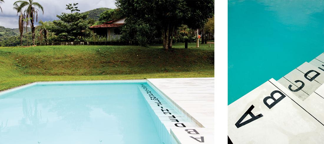 Left: Photo by Daniela Paoliello. Right: Photo by Pedro Motta. Images courtesy of Inhotim.