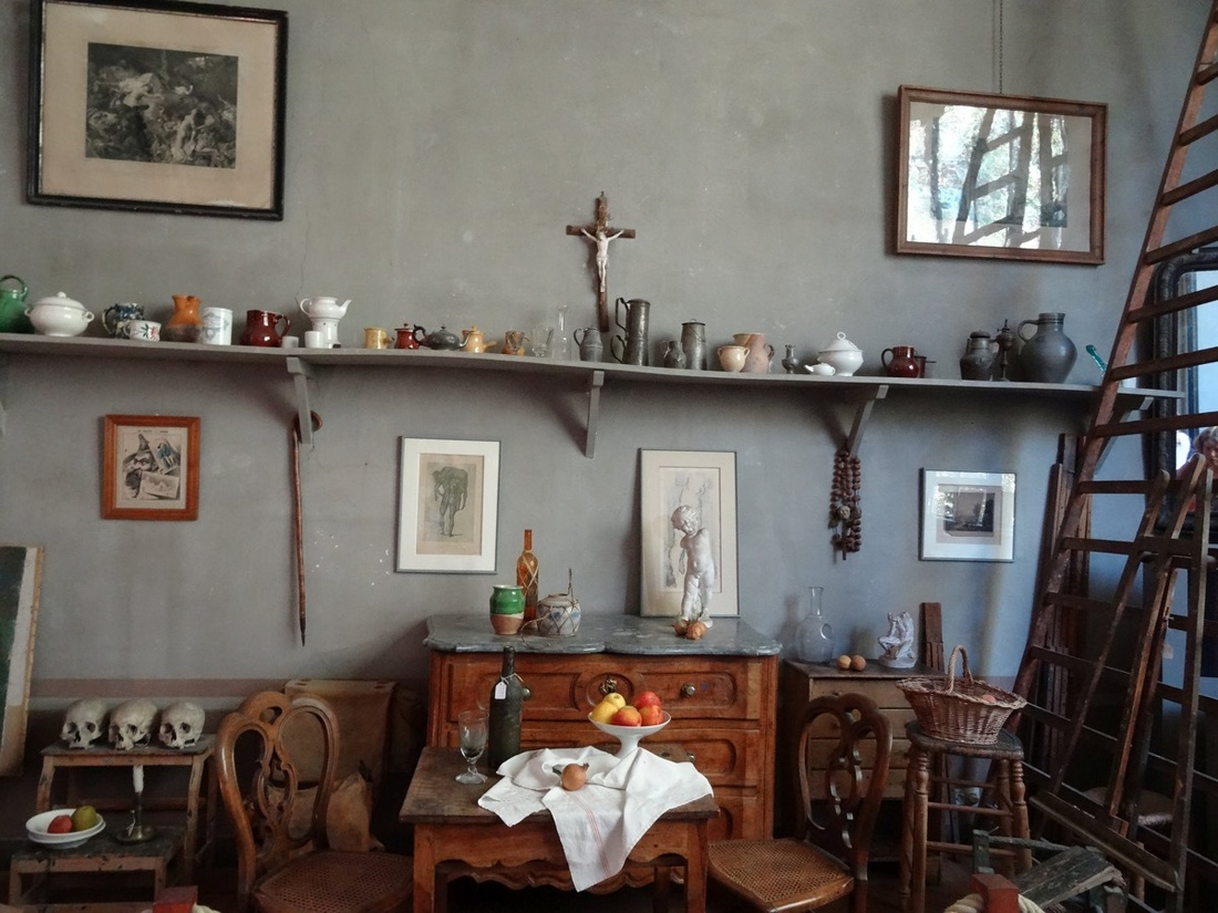 Paul Cézanne's studio. Photo by Sjaak Kempe, via Flickr.