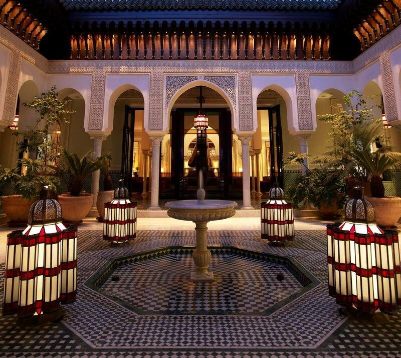 La Mamounia. Marrakech, Morocco.