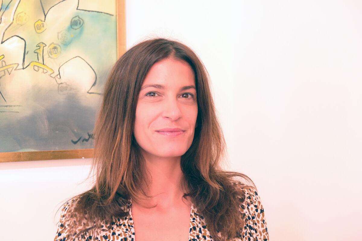 Chloe Vaitsou. Photo courtesy Art Dubai.