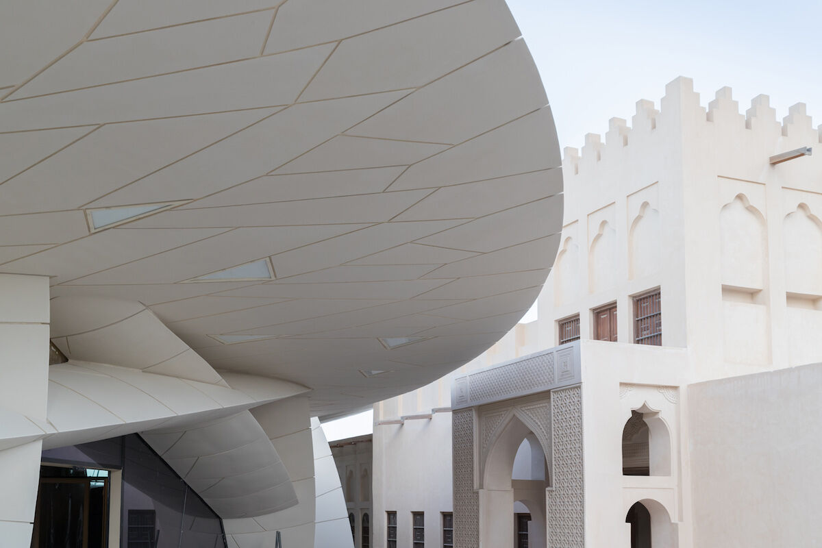 National Museum of Qatar. Photo © Iwan Baan.