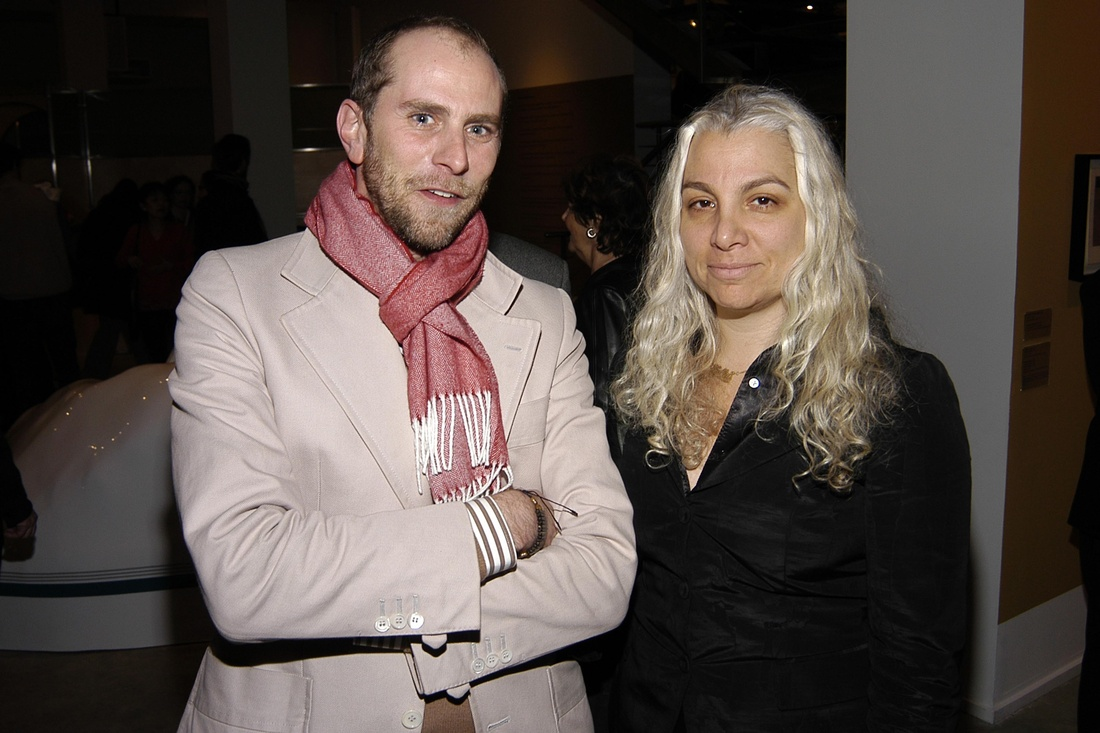 NEW YORK CITY, NEW YORK - JANUARY 25: Patrick Fleming and Andrea Rosen attend Andrea Zittel Opening at New Museum of Contemporary Art on January 25, 2006 in New York City. (Photo by Erik T. Kaiser/Patrick McMullan via Getty Images)