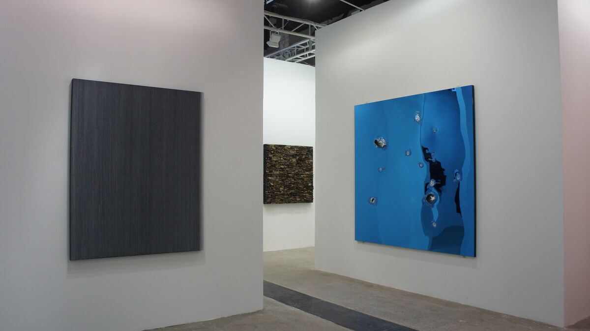 Installation view of Pearl Lam Galleries' booth at West Bund Art & Design.